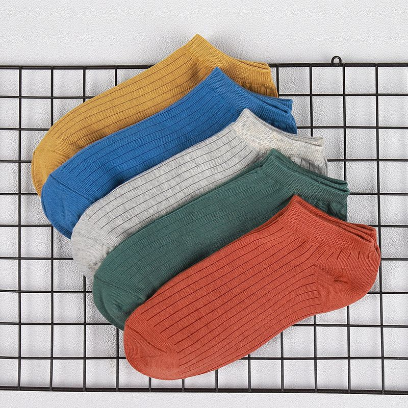 New 2017 MEN Cotton Sport Sock 70-N01--70-N14 Outdoor Running Anti-slip Sweat-absorbent Pumping Strip Socks