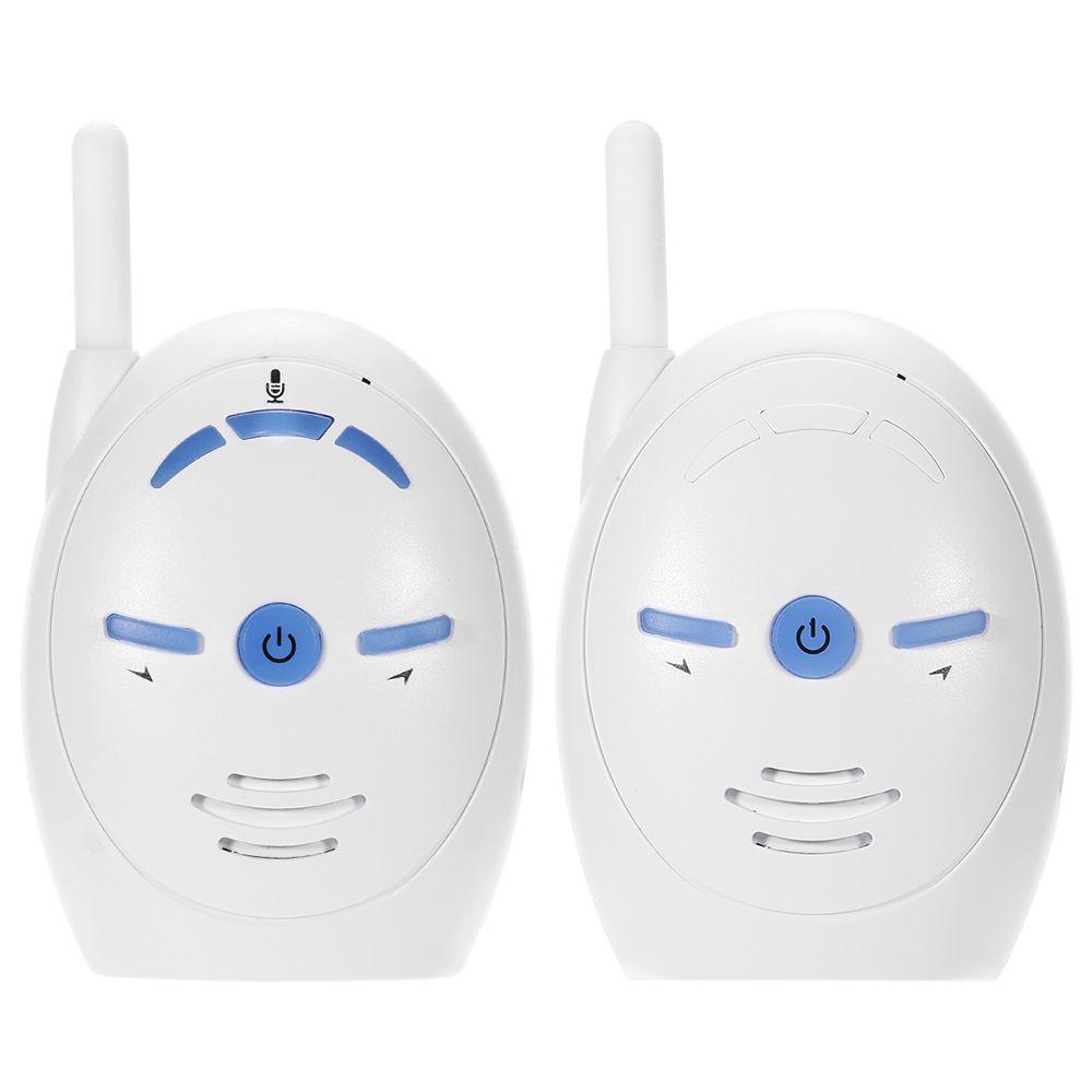 2.4 ghz Sans Fil Infantile Bébé Portable Numérique Audio Baby Monitor Sensible Transmission Bidirectionnelle Parler Crystal Clear Pleurer Voix