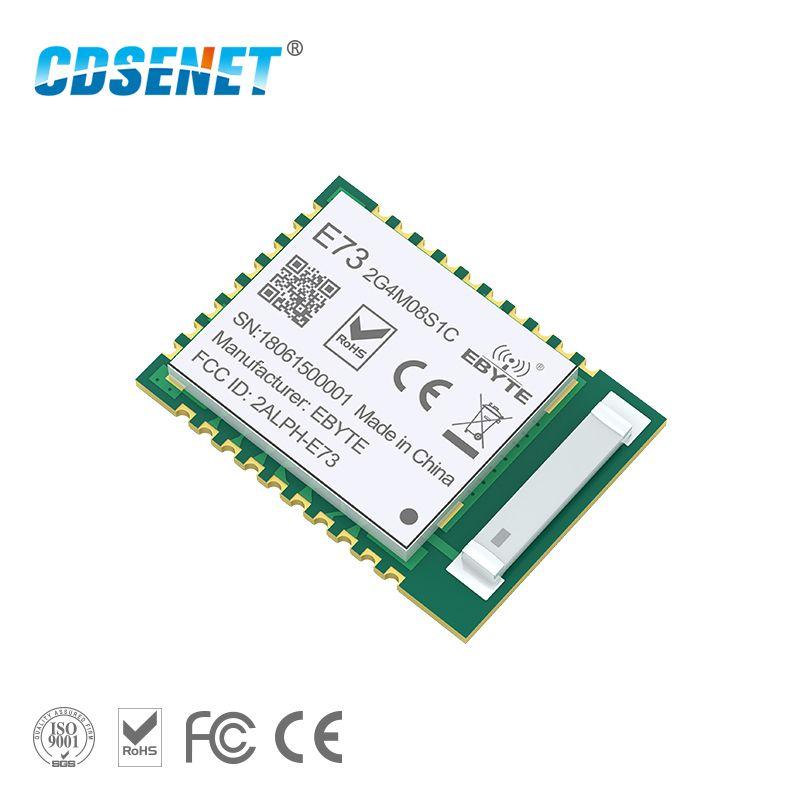 NRF52840 Bluetooth 5.0 240 mhz RF Émetteur-Récepteur CDSENET E73-2G4M08S1C 8dbm Céramique Antenne BLE 4.2 2.4 ghz Émetteur et Récepteur