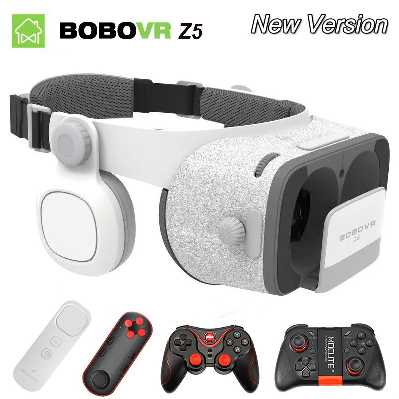VR BOX BOBOVR Z5 VR Glasses Virtual Reality goggles 3D glasses google Cardboard 2.0 bobo vr headset For 4.0