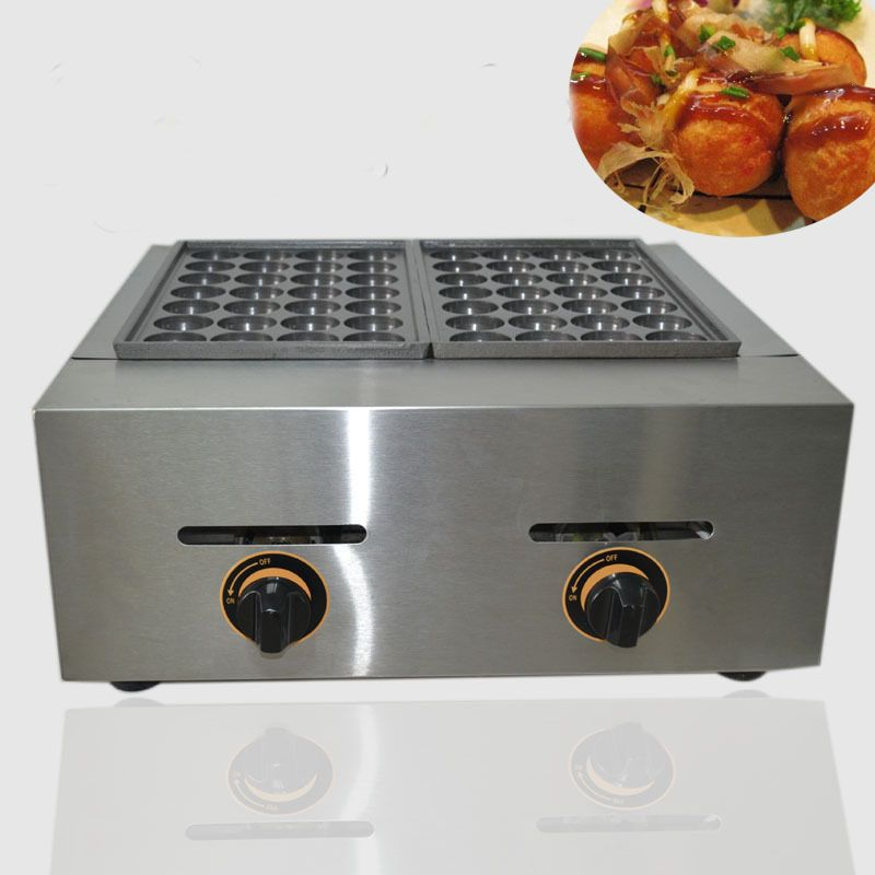 1PC FY-56.R GAS Type 2 Plate For Meat Ball Former Octopus Cluster Fish Ball Takoyaki Maker