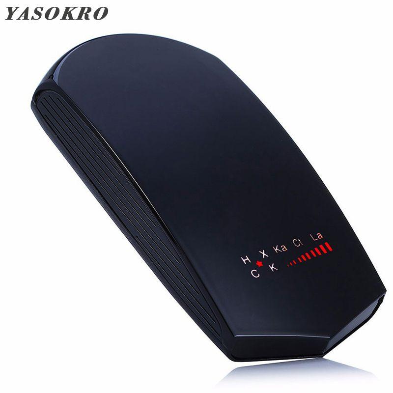YASOKRO universel V3 véhicule Auto voiture Radar détecteur LED affichage Laser Anti Radar vitesse détecteur Support russe et anglais