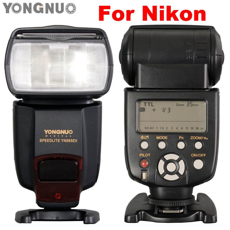 YONGNUO i-TTL Flash Speedlite YN-565EX YN565EX Speedlight for Nikon D7000 D5100 D5000 D3100 D3000 D700 D300 D300s D200 D90 D80