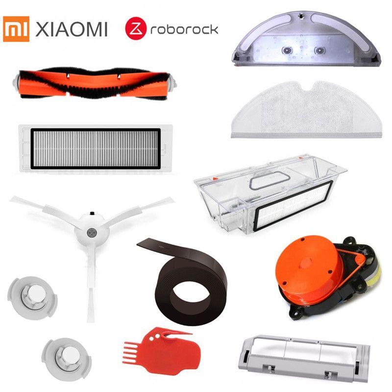 Geeignet für Xiaomi Roborock Roboter S50 S51 Staubsauger Ersatzteile Kits Mop Tücher Nass Wischen filter Seite Pinsel Rolle pinsel