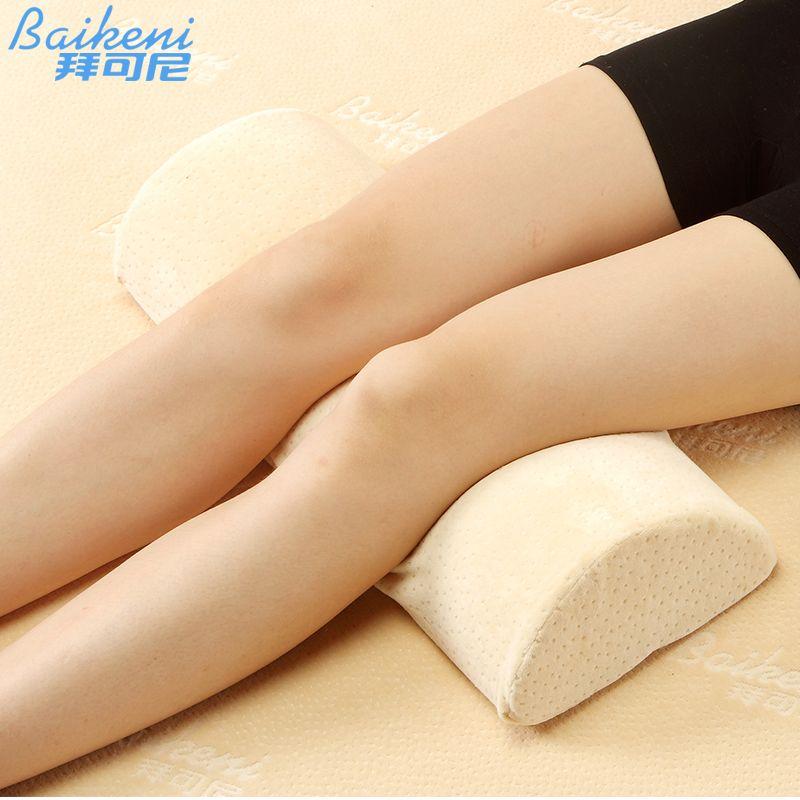 Oreiller de grossesse pour femmes genou jambe oreiller mémoire mousse coussin soutien du dos traversin Yoga coussin couchage lit oreiller almofada