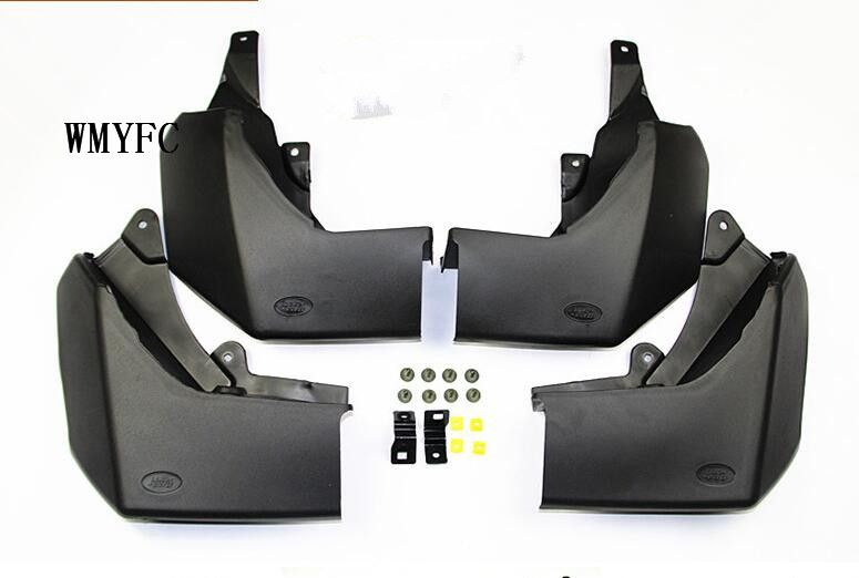 For Land Rover discovery 3 2006 2007 2008 High Quality 4pcs Mud Flaps Splash Guards Accessories