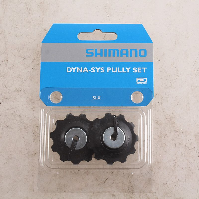 Shimano DEORE SLX RD-M593 10S Speed Rear Derailleur Tension & Guide Pulley Sets