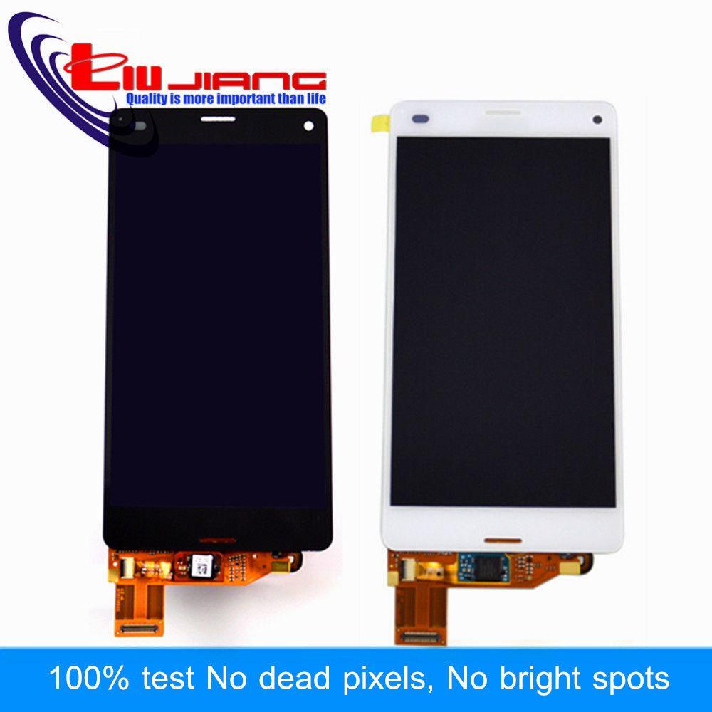 Liujiang 100% Getestet 4,6 ''Für Sony Z3 Compact LCD Display Touchscreen Digitizer Assembly Z3 mini D5803 D5833 bildschirm