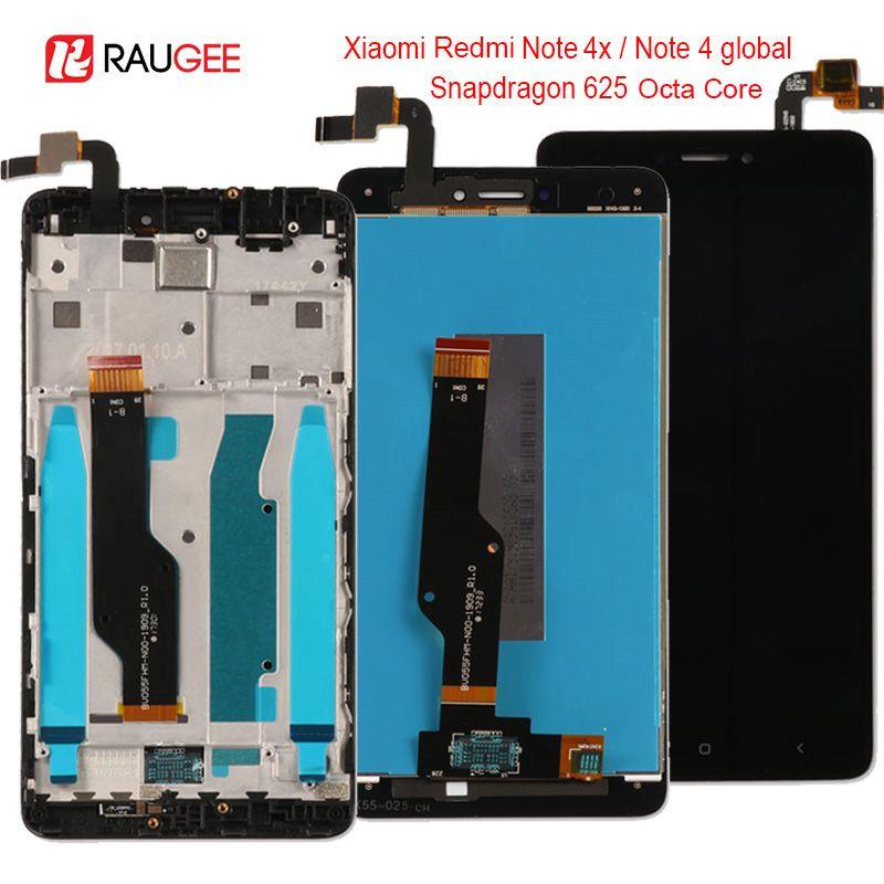 Pour Xiaomi Redmi Note 4X/4 Mondiale LCD Affichage à L'écran Tactile de remplacement pour Xiaomi Redmi Note 4 Snapdragon 625 octa Core 5.5''