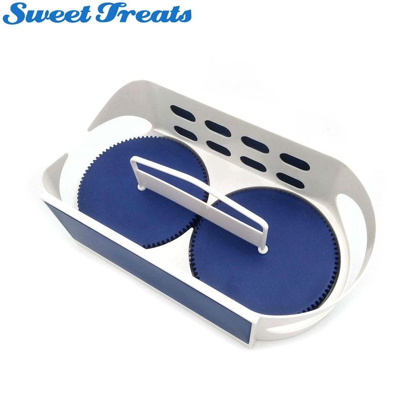 Sweettreats Rotation Storage Box Bathroom Multi-function Rack Swivel <font><b>Organizer</b></font> Kitchen Racks