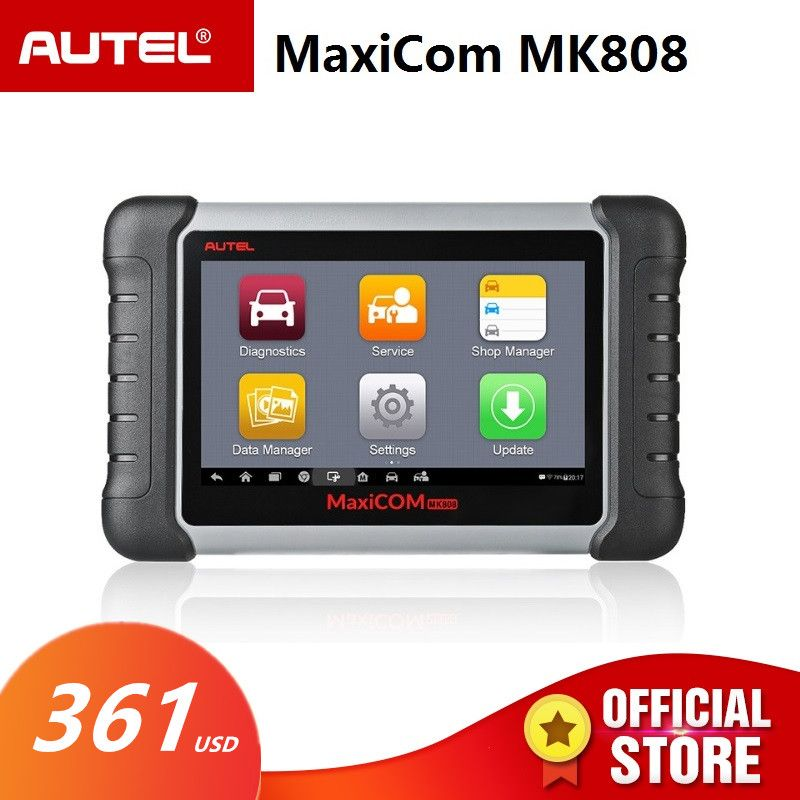 Autel MaxiCOM MK808 OBD2 Scanner Diagnostic Auto Tool OBD 2 Automotive Code Reader Tester ODB2 Key Programmer Immobilizer MX808