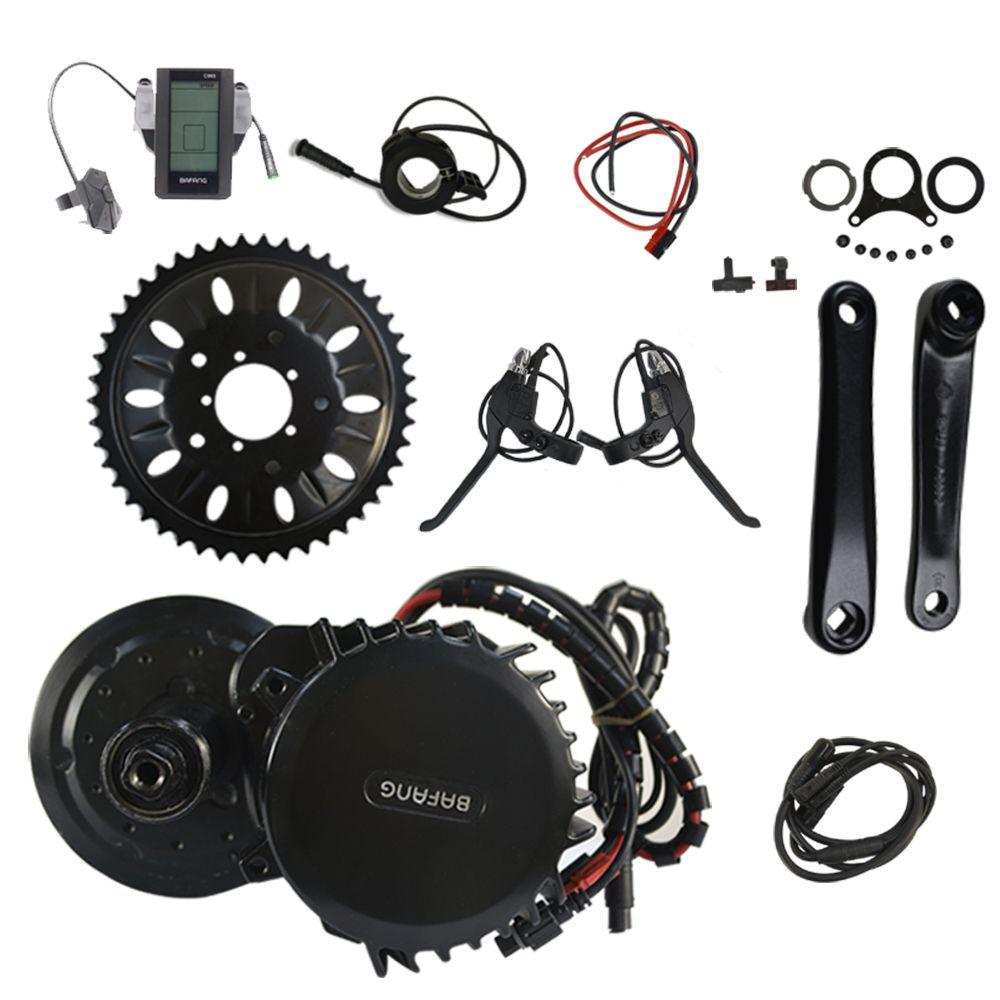 BBSHD 48V 1000W 120mm Motor Bike Bafang Mid Drive Crank Motor Ebike Kit Electric Bicycle Conversion Kit