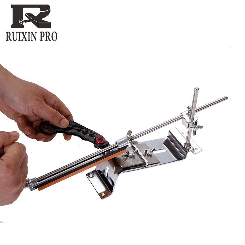 Newest version knife sharpener Professional Kitchen Knife Sharpener Sharpening Fix Fixed Angle with stones