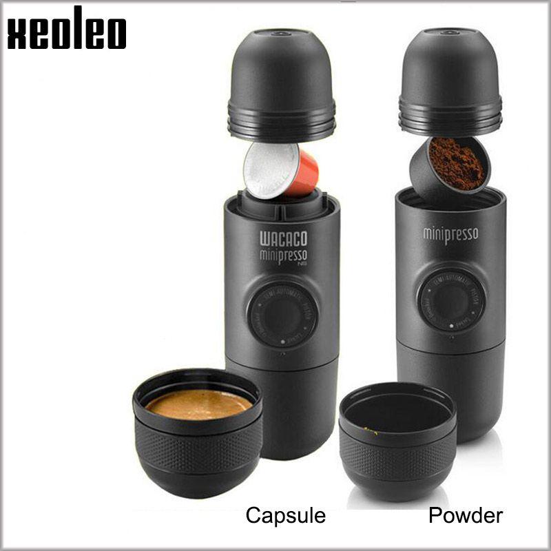 Wacaco Minipresso Kaffee maker Handpresse Kapsel & Pulver Kaffee maschine Manuelle Espresso maschine Tragbare Outdoor reise Kaffee