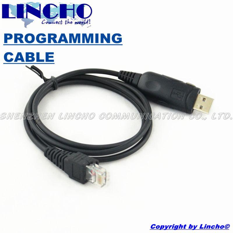 car two way radio GM160 GM300 GM328 GM338 USB RJ-45 8-PIN jack programming cable