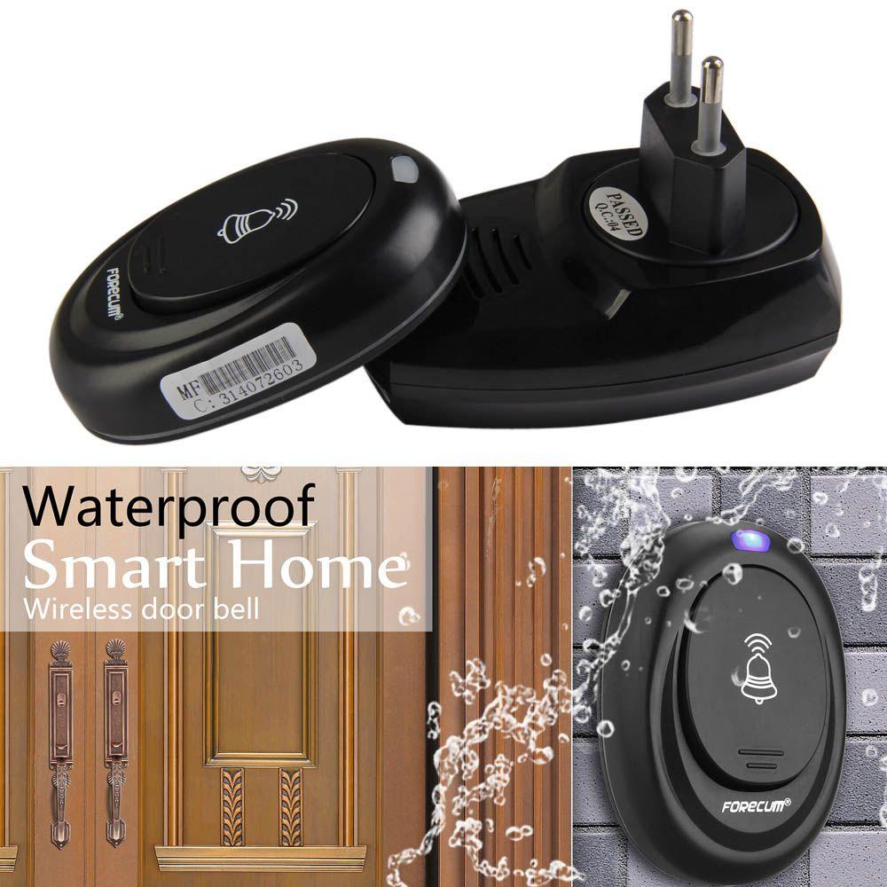 36 Songs Tune Melody 1 Remote Control Wireless Doorbell Door Bell 100M Range Waterproof Door Ring 220V Digital LED FEN#