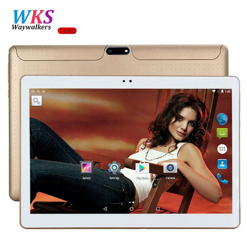 10.1 Pouce tablet pc Android 5.1 octa base 3G et 4G LTE téléphone Appelant 4 GB RAM 64 GB ROM MTK6592 GPS Bluetooth Comprimés pcs 9