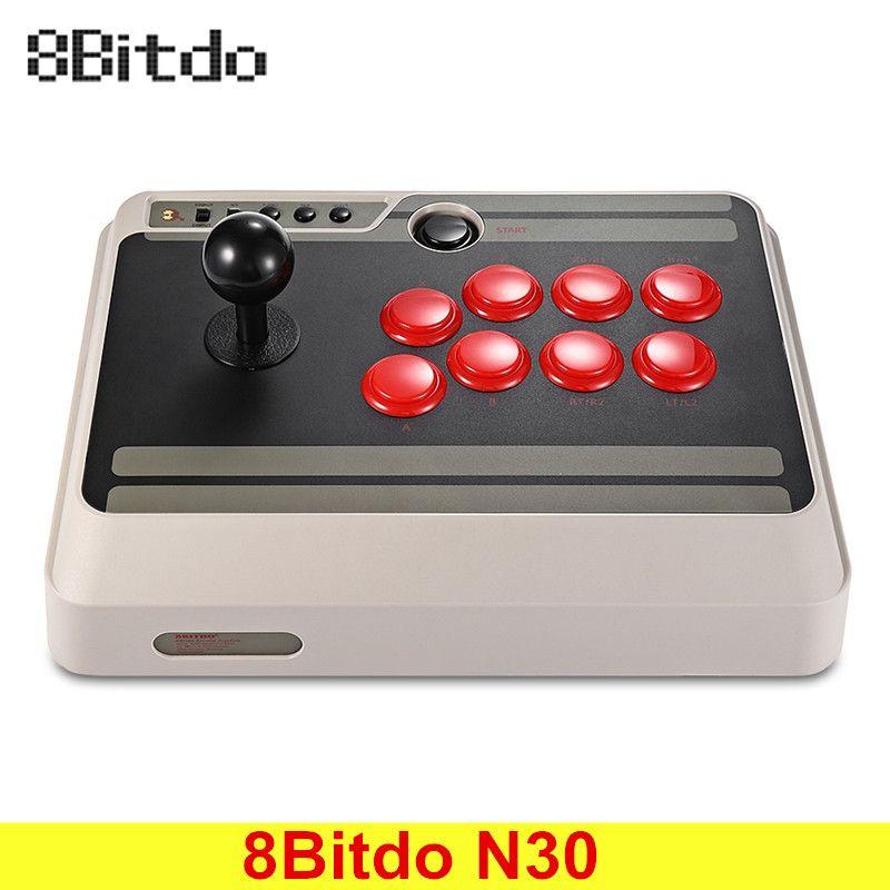 Оригинальный 8bitdo n30 Беспроводной bluetooth геймпад аркадная игра Стик джойстика для Android коммутатор Mac OS Оконные рамы