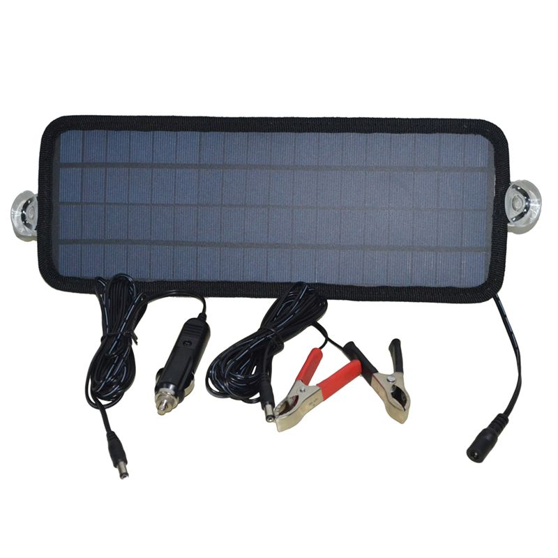 Hot 12V 4.5W 8.5W Solar Panel Portable Solar Charger Module For Car Automobile Boat Rechargeable Power Battery Supplier
