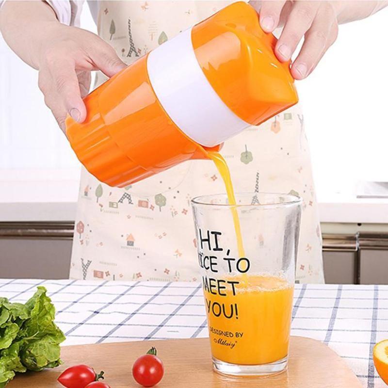 Tragbare Manuelle Citrus Entsafter für Orange Lemon Fruit Squeezer 100% Original Saft Kind Gesundes Leben Trinkwasser Entsafter Maschine