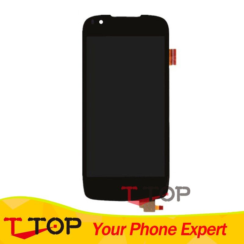 IQ 4405 Touch Screen Digitizer For Fly IQ4405 Quad Evo Chic 1 LCD Screen Display Assembly 1PC/Lot