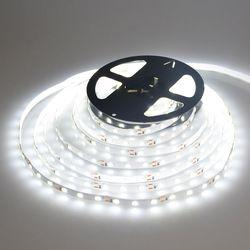 5m 10m High quality 5630 SMD DC12V Non-waterproof warm white / white LED strip light flexible bar light indoor home decor light
