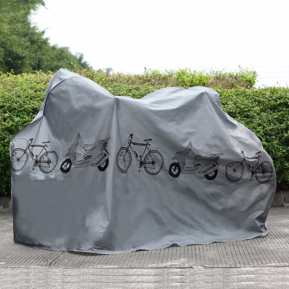 UV protector cover dustproof Bike Rain Dust Cover Waterproof Outdoor Gray For Bike Bicycle Cycling free shipping