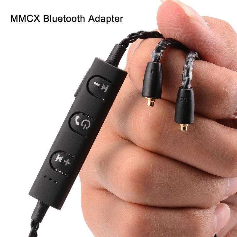 MMCX разъем кабель для Shure SE535 se215 SE846 ue900 наушники Bluetooth адаптер замена кабеля с серебряным покрытием Провода V4.1