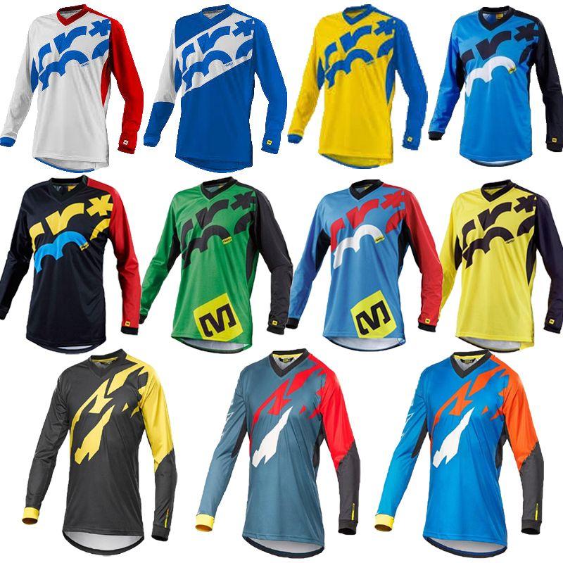 Cycling Jersey 2017 Men's Long Sleeve Bicycle Maillot MTB Shirt Downhill Uniform Wear Mountain Bike Clothing Motocross Clothes