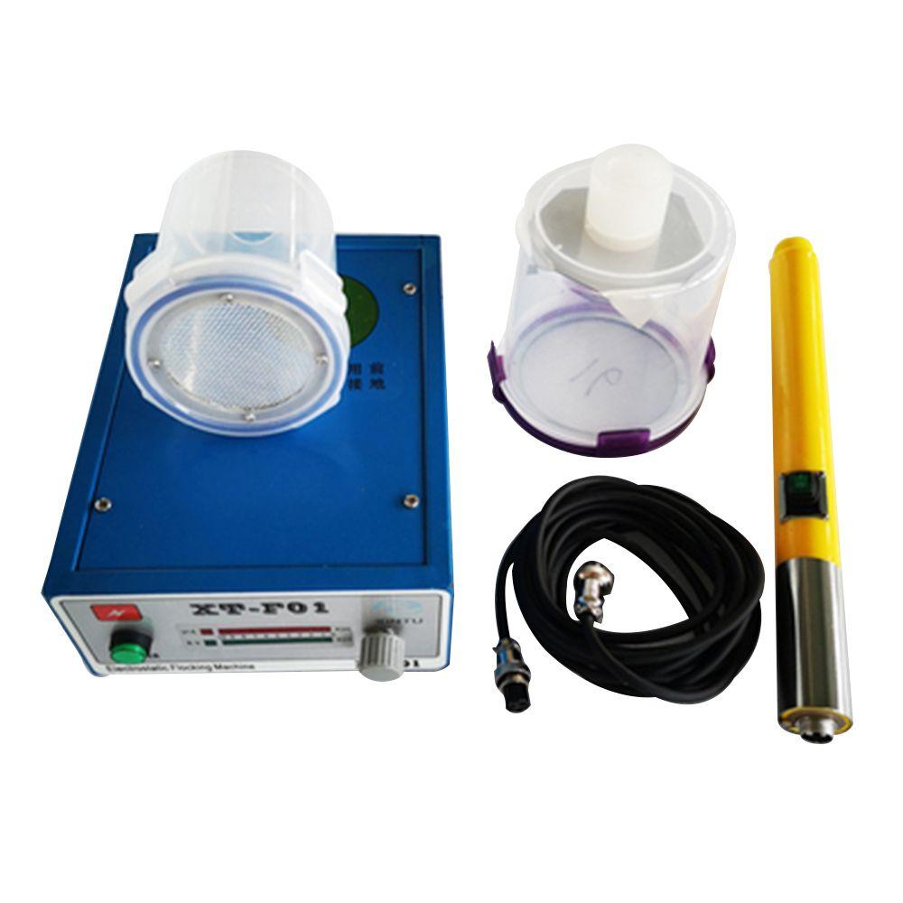 Elektrostatische beflockung maschine ausrüstung XT---F01 beflockung maschine SCHNELLE versand