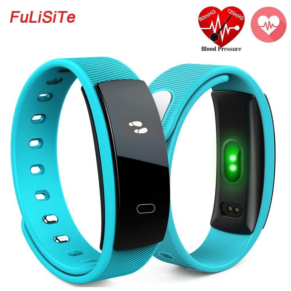 Neue QS80 Smart Armband Herzfrequenz Blutdruck Fitness Tracker Intelligente Elektronik 0,42 zoll TFT OLED Armband für BT Handys