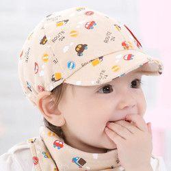 KLV Bayi Mainan Boy Gadis Topi Snapback Kartun pencetakan Balita Bayi Kecil Mobil Bisbol Baret Bayi Usia 0-24 bulan #25
