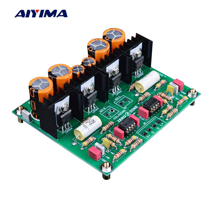 Aiyima MM Moving Magnetic Head Player Board Audio Amplifier DUAL-RIAA Phono Amplifier Board DIY