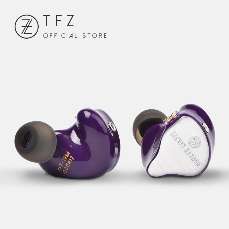 The Fragant Zither/2018 SECRET GARDEN HIFI Neckband earphones, TFZ In-ear Headset Heavy Bass Quality Music Earphones