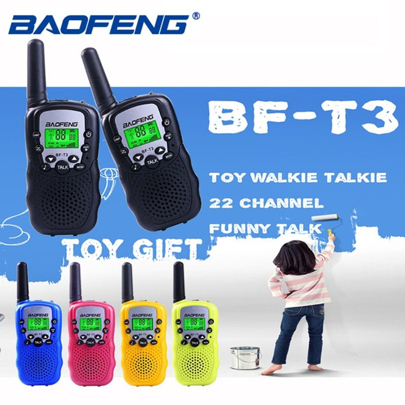 Baofeng BF-T3 Pmr446 Walkie Talkie Best Gift for Children Radio Small Handheld T3 Mini Wireless Two Way Radio Kids Toy Woki Toki