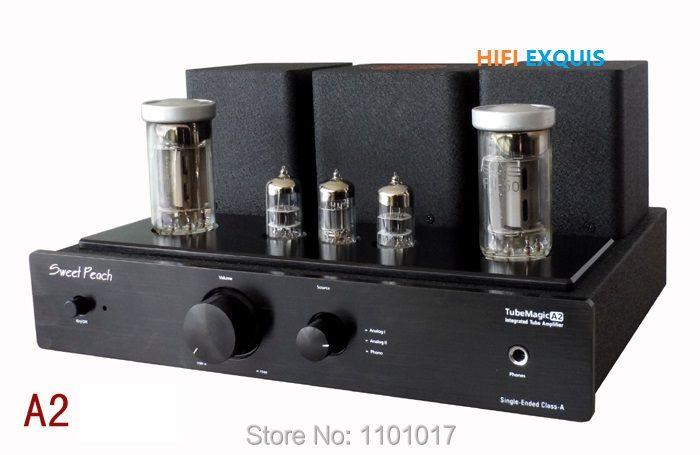 XiangSheng doux pêche SP-FU50 amplificateur de Tube HIFI EXQUIS FU50 Signal-terminé MM Phono casque sortie USB décodage mp
