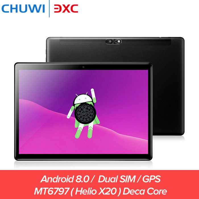 Chuwi Hi9 Air 4G Dual SIM Tablet PC 10.1 inch Android 8.0 Helio X20 Deca Core 4GB 64GB Bluetooth 4.2 Phone Call Game Tablets