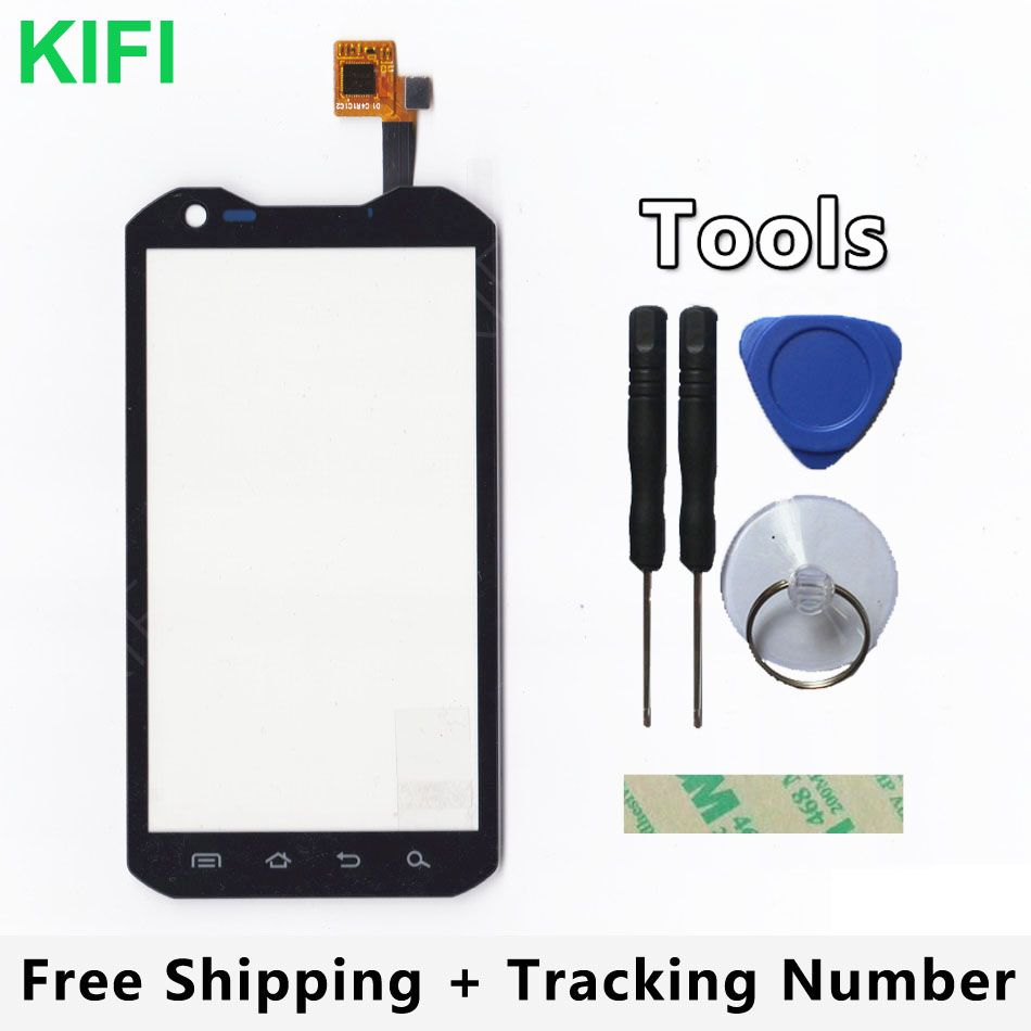 KIFI 100% QC PASS Touch Screen Digitizer Glass Panel For Land Rover A9 LandRover a9 + MTK6582