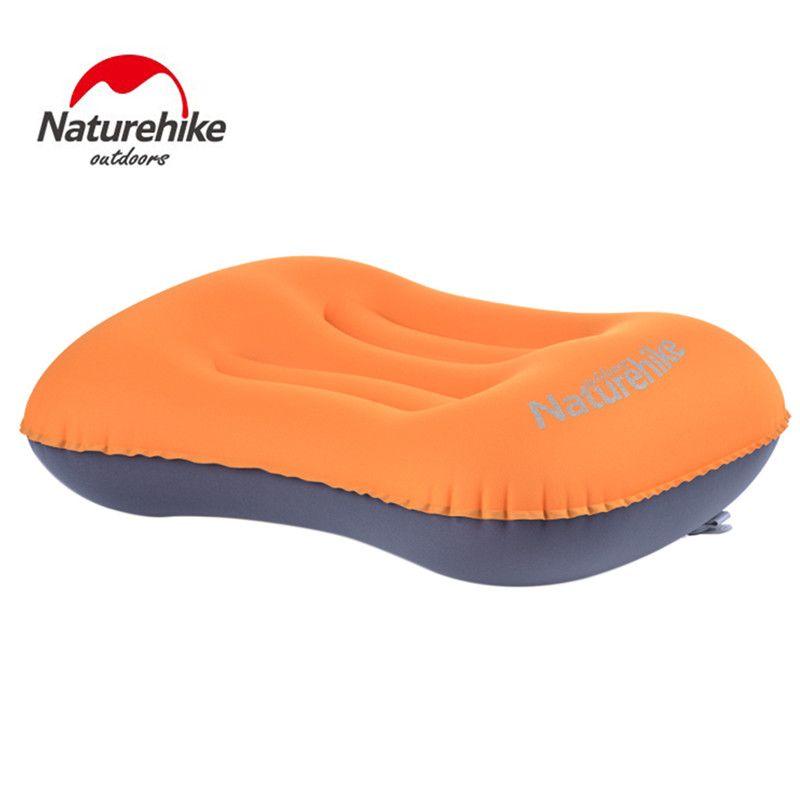 Naturel randonnée Mini oreiller de voyage ultra-léger Portable Air gonflable oreiller extérieur camping voyage oreiller doux livraison gratuite