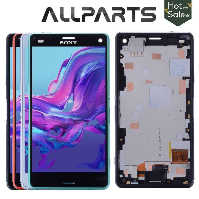 Tactile D'ORIGINE Écran LCD Pour SONY Xperia Z3 Compact Affichage Cadre Z3 Mini D5803 D5833 Digitizer Pour SONY Xperia Z3 Compact LCD