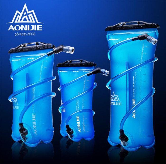 AONIJIE 1.5L/2L/3L Outdoor Radfahren Laufen Faltbare TPU Wasserbeutel Sport Trinkblase Für Camping Wandern Klettern