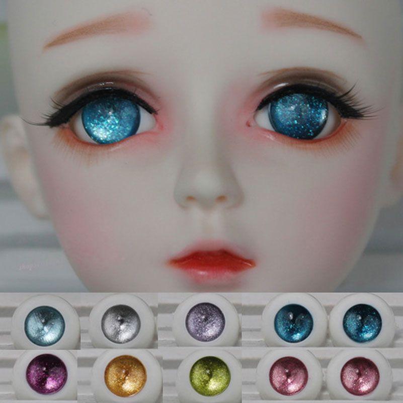 1 Paire Acrylique Jouet Yeux pour 1/3 1/4 1/6 SD BJD Poupée yeux Taille 12 MM 14 MM 16 MM 18 MM 20 MM Jouet Poupées Accessoires Eye Ball accessoire