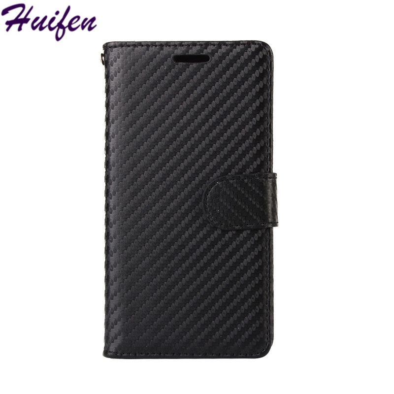 For iPhone X Case Carbon Fiber Texture TPU PU Leather Wallet Stand Cover Card Holder Phone Bag For iphone 10 Capa Flip Case(L118