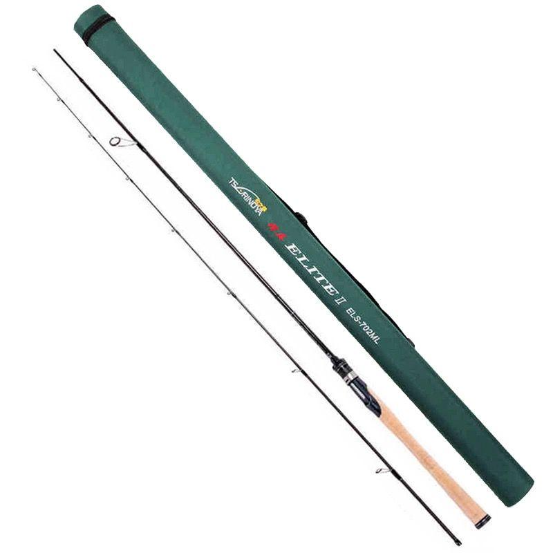 Tsurinoya 2 Abschnitte 2,13 mt Spinning Angelrute Power: ML Aktion: M Schnelle Carbon Locken Stangen FUJI Führungsring Stick Vara De Pesca Olta