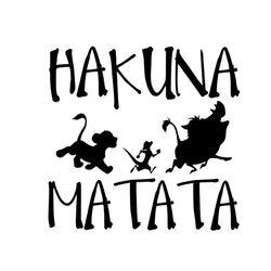 13.8 cm * 13.3 cm HAKUNA MATATA Roi Lion Simba Voiture-Styling Vinyle Autocollant De Voiture S4-0115