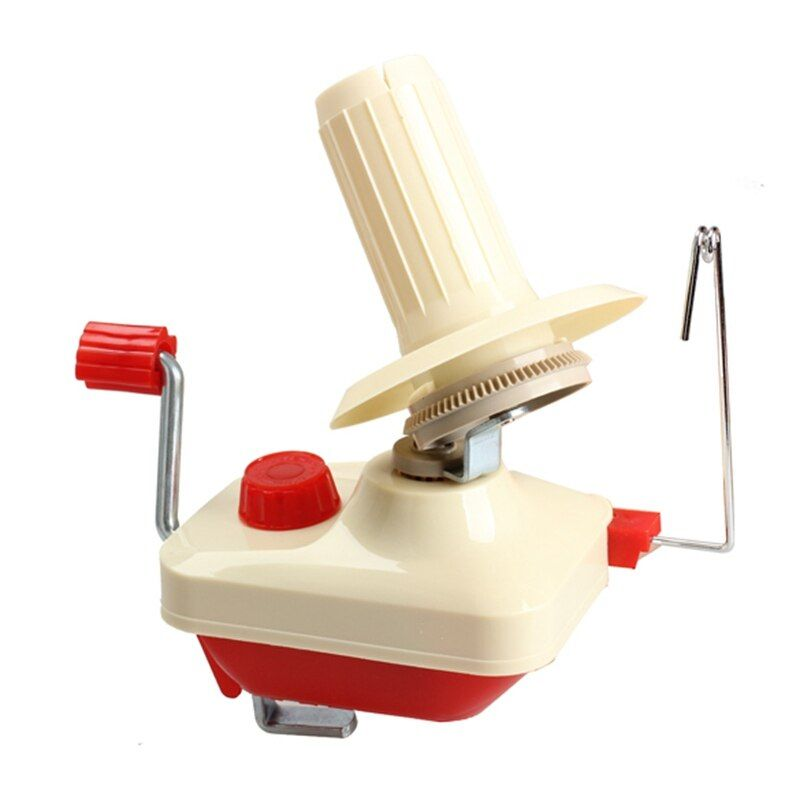 Swift Yarn Winder Fiber String <font><b>Ball</b></font> Wool Winder Holder Hand Operated Winder Sewing Tools Portable Machine with Plastic Shaft
