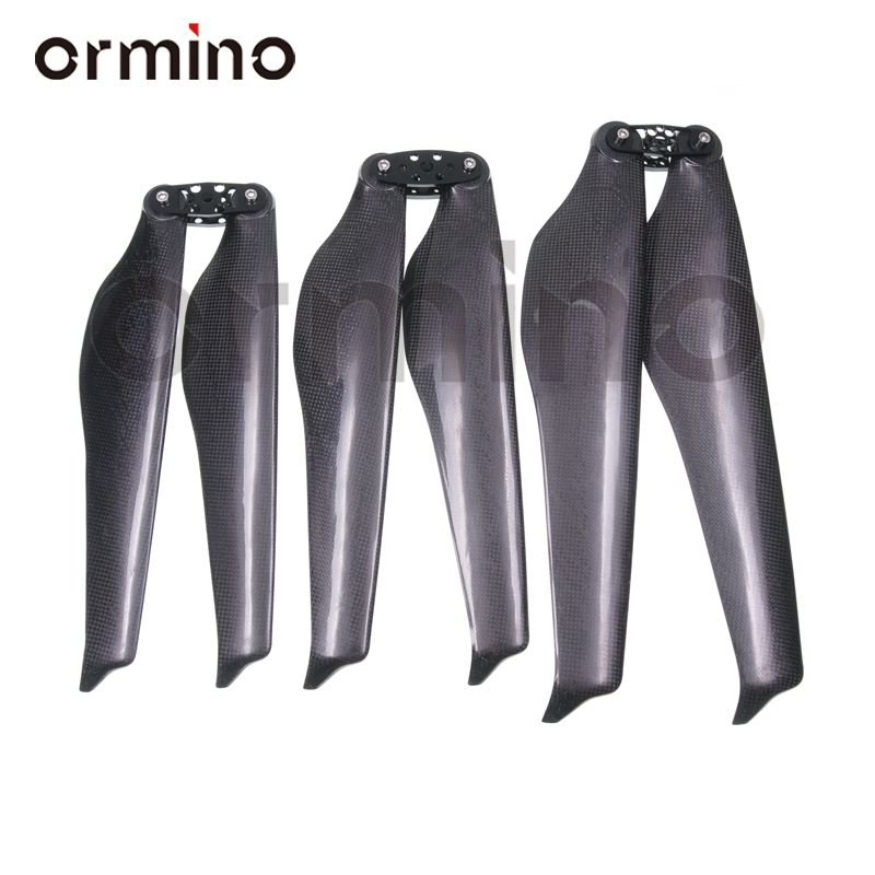 Ormino T-Motor Style 32 Inch Folding Propeller Quadcopter Propeller Carbon Fiber 34 36 Inch UAV Foldable RC Drone Multicopter