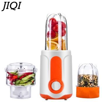JIQI 3 in 1 electric kitchen mini Blender kitchen helper food mixer for baby, fruit juicing, meat grinding