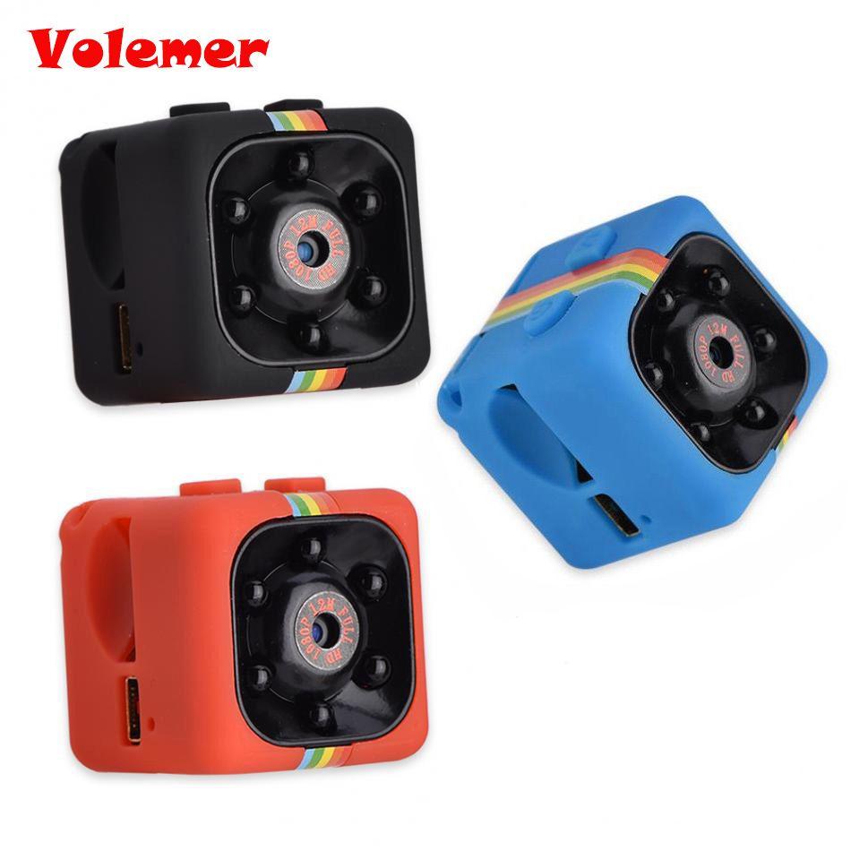 SQ11 Mini caméra HD 1080 P Vision nocturne caméscope voiture DVR enregistreur vidéo infrarouge Sport caméra numérique Support TF carte DV caméra