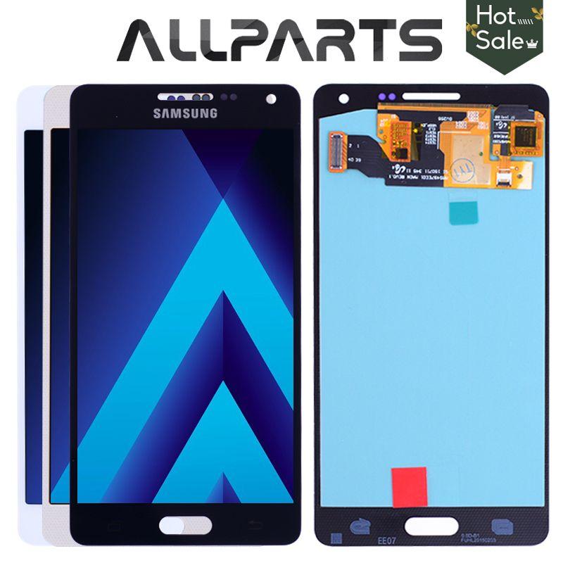 AMOLED LCD pour SAMSUNG Galaxy A5 2015 Affichage A500FU A500 A500F A500M Écran Tactile Digitizer Remplacement Pour SAMSUNG Galaxy A5